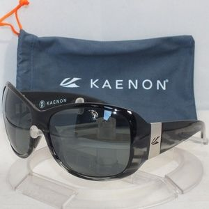 1eb52562f2 NEW Kaenon Maywood Polarized Black Smoke